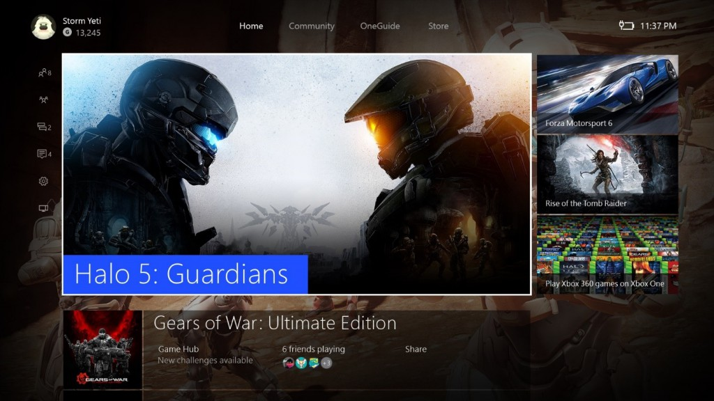 The Xbox app in Windows 10