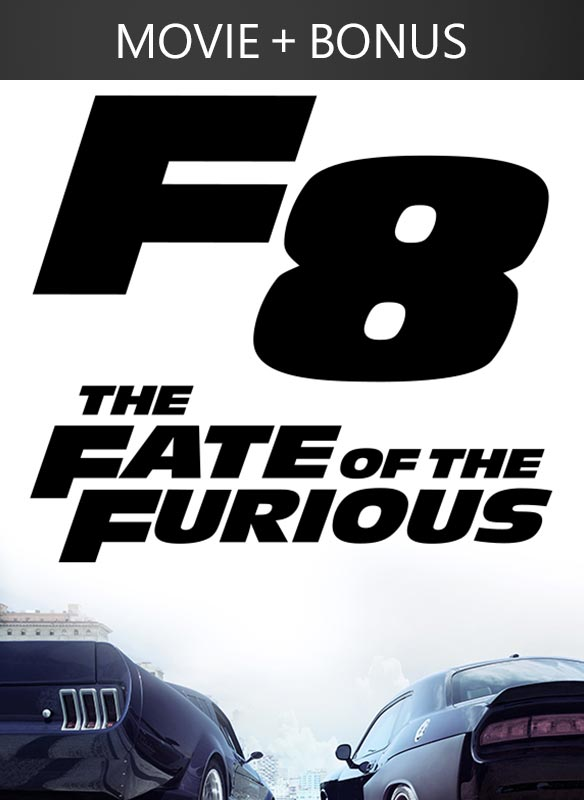 Fate of the Furious, available now in the Movies & TV section of the Windows Store.