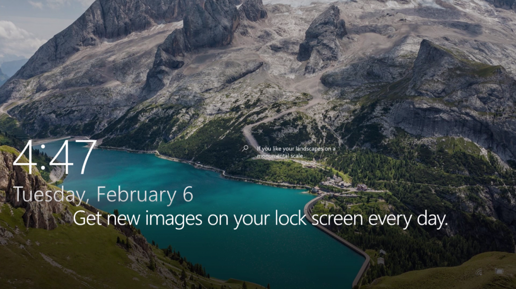 Get new images on your lock screen every day.