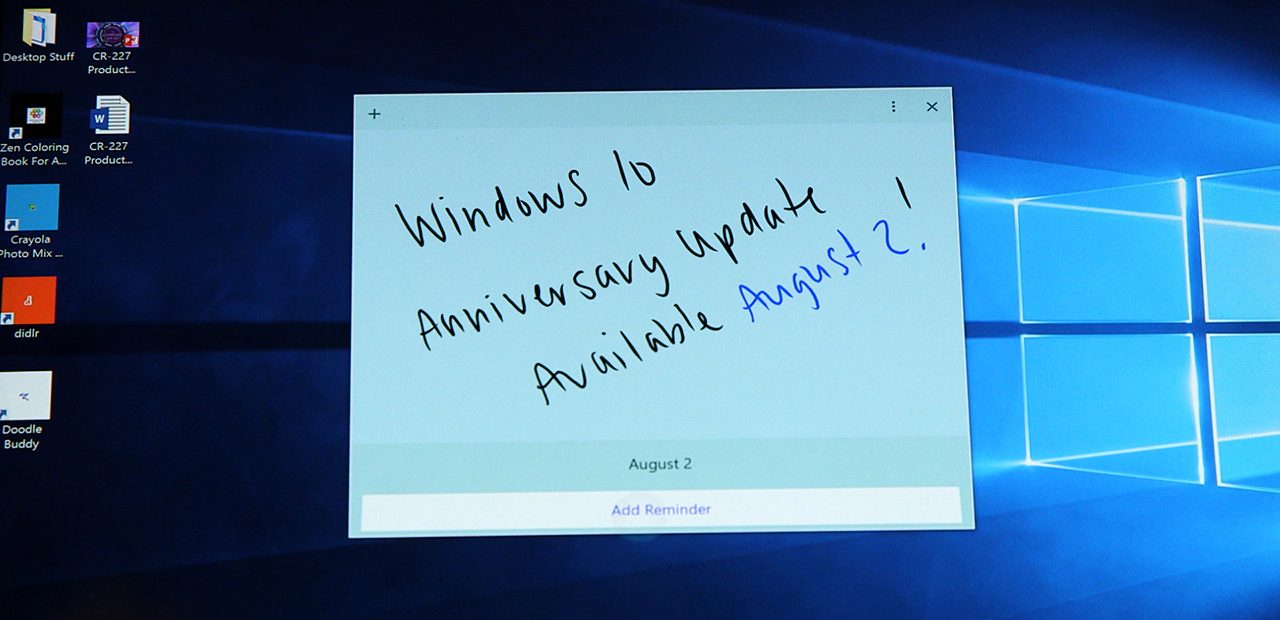 Windows 10 Anniversary Update Available August 2