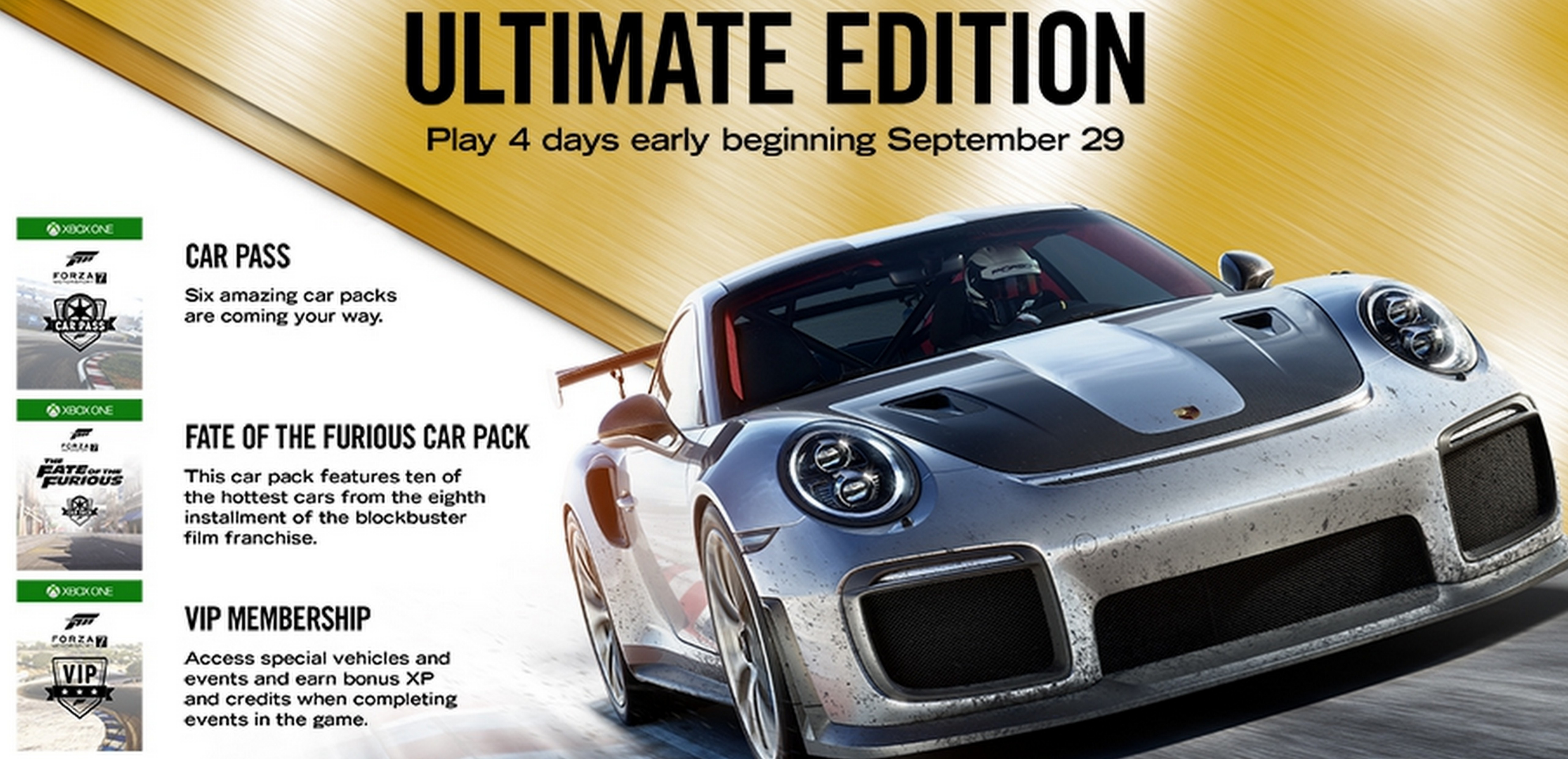 play forza motorsport 7 four days early with today 39 s. Black Bedroom Furniture Sets. Home Design Ideas