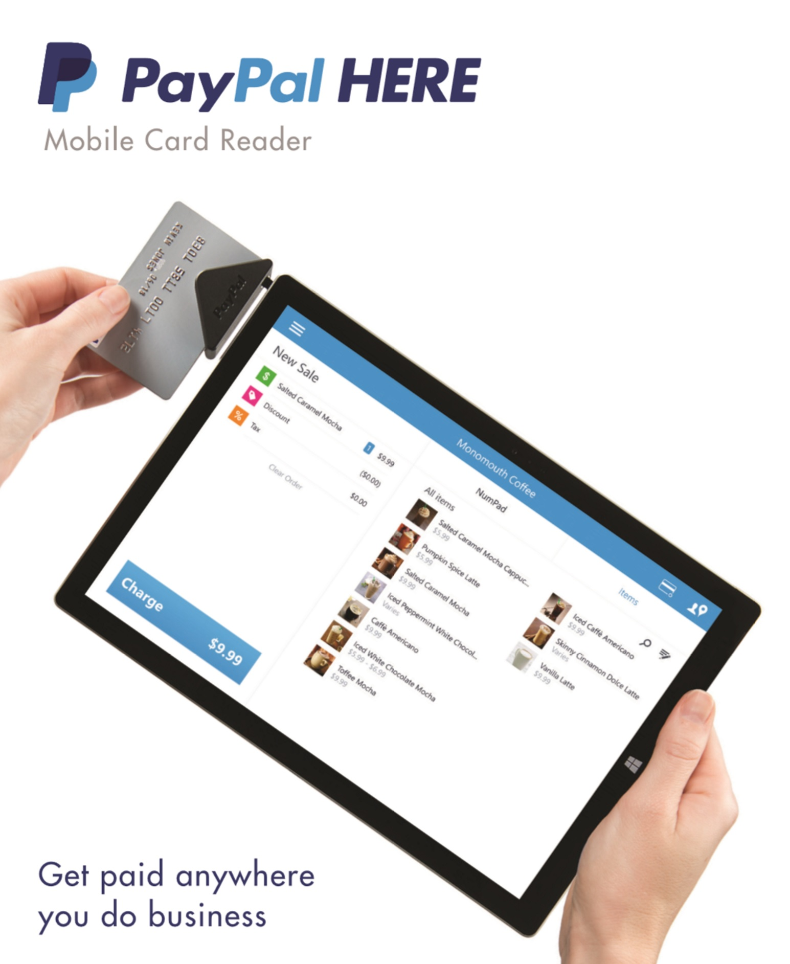 New surface and paypal here solution for small business retailers is paypal here mobile card reader for windows reheart Image collections