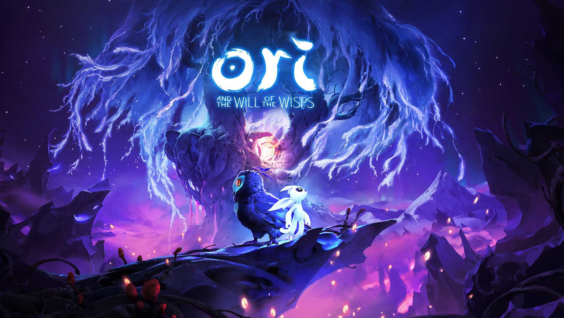 Ori and the Will of the Wisps title art
