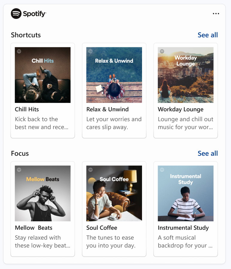 Focus Sessions supports connecting your Spotify account to help you find the perfect audio to help you focus.