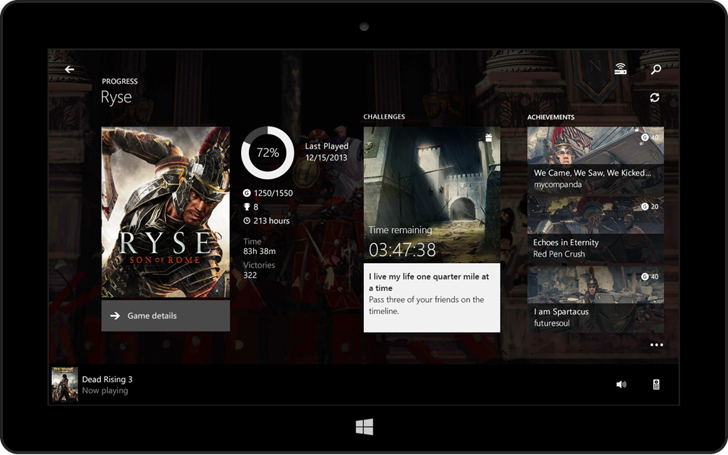 Download the Xbox One SmartGlass app and get ready for your Xbox One
